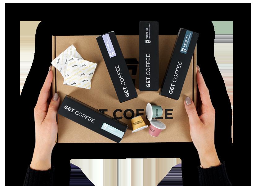 Provepakke med 20 kaffekapsler